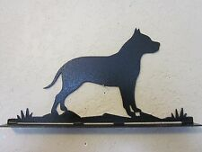 PITBULL  MAILBOX TOPPER (NO  NAME) STEEL TEXTURED BLACK POWDER COAT FINISH