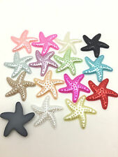 NEW Hot 50pcs Resin starfish Flat back Scrapbooking For DIY craft making Mix