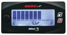 Koso motorcycle fuel gauge multiple sender range compact design pls read listing