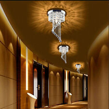 Modern LED Bulb Ceiling Light Pendant Fixture Lighting Crystal Chandelier 7656U
