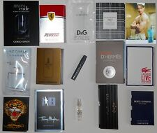 Mens Cologne Samples Lot of 15 Armani Burberry Lacoste D&G Hermes Paco Rabanne
