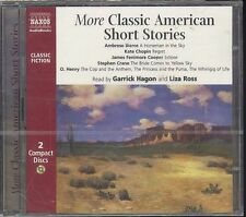 More Classic American Short Stories audiobook CD NEW