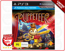 PS3 Playstation 3 Games BULK x 2 Puppeteer Sports Champions2 Invizimals