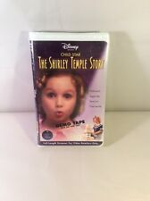 Child Star The Shirley Temple Story VHS * Disney NEW Sealed Rare Demo Tape video