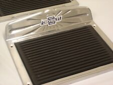 """Chevy Pickup Truck Car Universal Aluminum Side Step Plates Chevy Logo 7"""" x 11"""""""