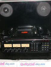 "Fostex E-2 1/4"" tape 2 track Center Track Time Code Master Reel to Reel deck"