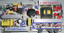 Repair Kit, LG 37LC2D-UE, LCD TV, Capacitors only, Not the entire board