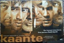 "India Bollywood 2002 Kaante 13.5""x20.5"" lobby cards x 10 Amitabh Sunil Sanjay"