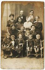 Lot d'anciennes cartes-photo Famille du Nord-Pas-de-Calais Années 30