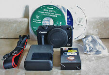Canon EOS M2 BODY (BLACK) & Accessories ONLY - UK STOCK