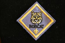 CUB SCOUT BOBCAT RANK PATCH - AWARD MERIT ADVANCEMENT - OFFICIAL BOY SCOUT - BSA