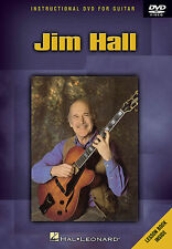 JIM HALL - JAZZ GUITAR INSTRUCTIONAL *NEW* DVD