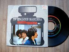 """NUOVO SISTEMA : IN QUALCHE MANIERA  7"""" vinyl 1976 - C. Malgioglio 45 giri"""