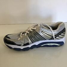 Saucony Progrid Stabil CS Running Shoe Silver Blue Size 13 Men's