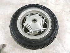 97 Yamaha XC125 XC 125 Riva Scooter rear back wheel rim and tire