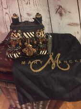 MARY FRANCES Safari Purse-Leopard/Tiger/Zebra Pony Hair/Suede/Snakeskin/Beads