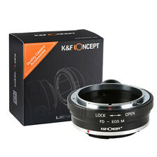 K&F Canon FD Lens to CANON EOS-M EF-M Camera M1 M2 M3 Mount Adapter TRIPOD Ring