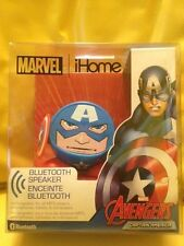 MARVEL CAPTAIN AMERICA Avengers Bluetooth Wireless Speaker iHome NEW