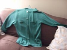 castle of irland womans  irsh sweater XL green