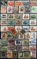POLAND40 DIFF. USED  GENUINE  STAMPS