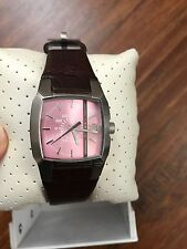DIESEL LADIE'S BROWN WITH PINK DIAL COLLECTION SEXY WATCH DZ5100