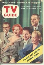 1955 TV Guide Why Panel Shows Are Rigged NE Pa. Edition A Disney Hayes wrestling