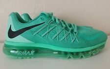 Nike Air Max 2015 Shoes Menta Black Mint Green Glow 698903-303 Women's Size 9.5