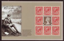 """GREAT BRITAIN 2014 """"THE GREAT WAR 1914"""" DEFINITIVE PANE UNMOUNTED MINT, MNH"""