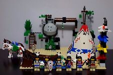 LEGO Western 6748 Boulder Cliff Canyon American Indian 100% Complete Set