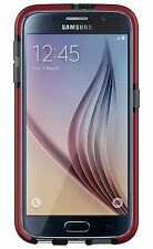Tech21 Evo Check Case for Galaxy S6 - Smokey/Red