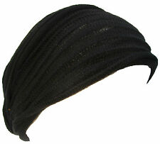Hippie Boho Multicolored Stretchable Cotton Handmade Double Headband Bandana