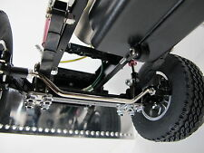 Custom Angle Steering Rod Pole Drawbar for Tamiya RC 1/14 Semi King Grand Hauler