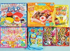 7 PCS SET Kracie popin cookin Sushi  Ice Cream Donut Japanese Candy