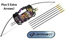Barnett Sportflight Adult 25lb Draw Recurve Archery Set Complete with 7 Arrows!