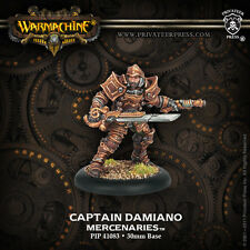 Warmachine - Mercenaries: Captain Damiano  PIP41083