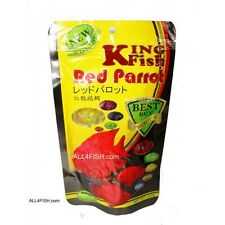 king fish blood red parrot fish food for RED CHILI. small granules. 100gr 4.53oz