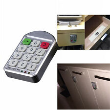 Electronic Password Keypad Number Digital Cabinet Door Code Lock Security Silver