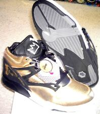 Reebok Pump Omni Lite Basquiat Gold/Black Model-J87151 Size 11.5 Extremely Rare!
