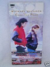 Michael Jackson Gone Too Soon 3' Promo Japan 1993 ESDA 7157