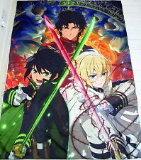 Owari no Seraph Anime Manga Bettdeckenbezug Bettwäsche 150x220cm Neu