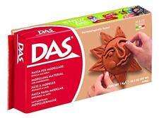 DAS Air-Hardening Modeling Clay, 2.2 Pound Block, Terra Cotta Color (387600), Ne