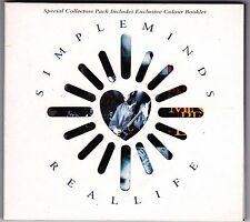 Simple Minds - Real Life - CD Collector's Pack Virgin 3 x Track VSCDG1382
