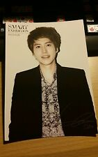 Sm Art exhibition super junior kyuhyun official postcard kpop k-pop rare