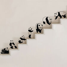 Vinyl Art Removable Wall Sticker Home Decor Mural DIY Animals Pandas Decals