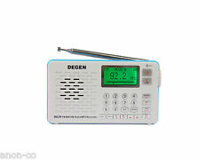 DEGEN DE29 AM/FM/SW DSP Radio MP3 & Direct Radio Recording  **NO BATTERY **