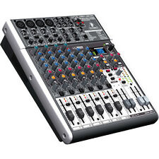 Behringer X1204USB 12-Channel USB Audio Mixer w/ Effects & Rack Mount Brackets