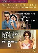 Butterfield 8/Cat on a Hot Tin Roof (DVD, 2014, 2-Disc Set) New Sealed