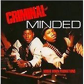BOOGIE DOWN PRODUCTIONS - CRIMINAL MINDED (DELUXE EDITION) 2 X CD *NEARLY NEW*