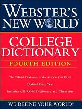 Webster's New World College Dictionary, Fourth Edition (Book with CD-ROM) - New