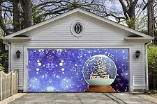 Christmas Snow Ball Garage Door Covers Banners Outside Home Decor Billboard GD52